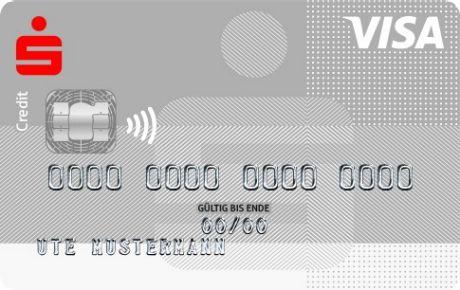 Visa Card Standard Kreditkarte Sparkasse Dachau